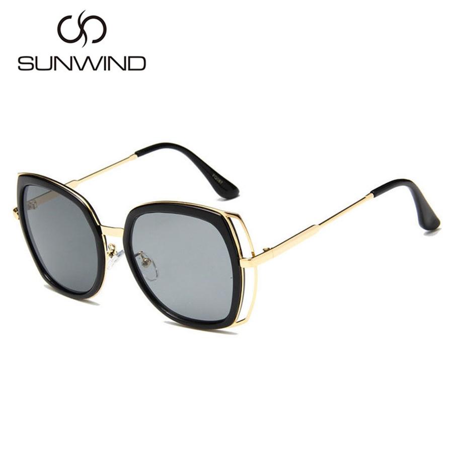 Oversize cat eye zonnebril damesmode zomer stijl big size frame - Kledingaccessoires