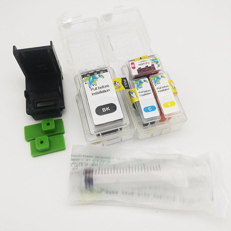 einkshop PG37 Smart Cartridge Refill kit For <font><b>Canon</b></font> <font><b>PG</b></font>-<font><b>37</b></font> CL-38 <font><b>PG</b></font> <font><b>37</b></font> Ink Cartridge PIXMA MP140 MP190 M210 MP220 MP420 IP1800 image