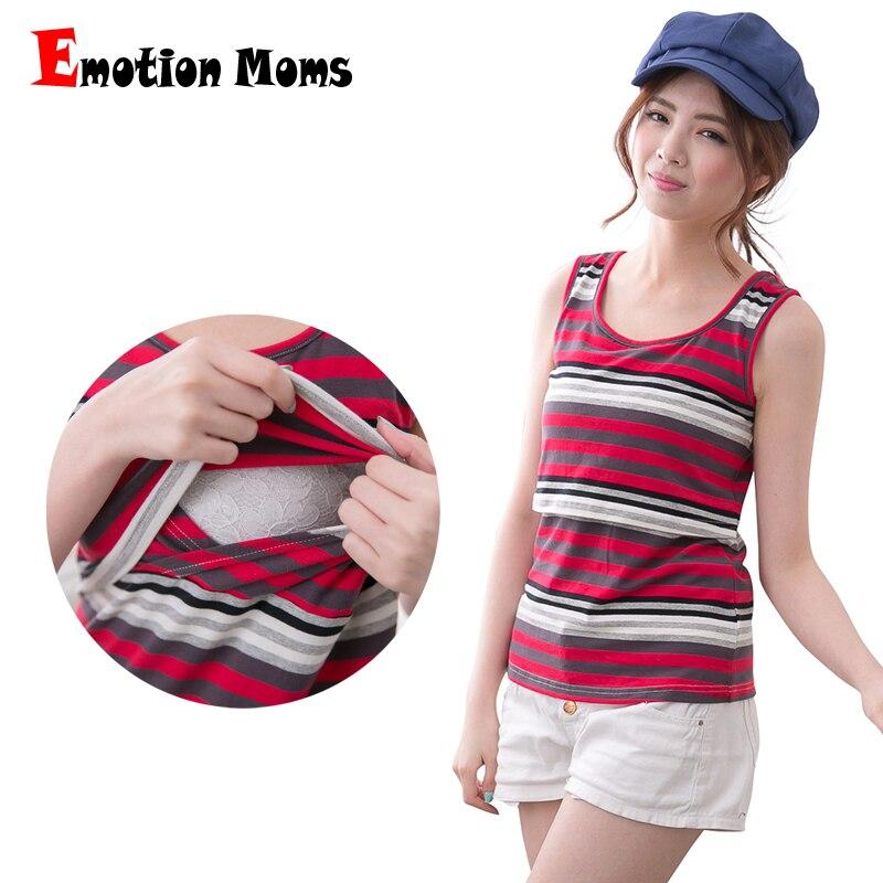 Emotion Moms Summer Maternity Clothes Maternity Tank tops Nursing vest tops Breastfeeding vest Nursing top for Pregnant Women