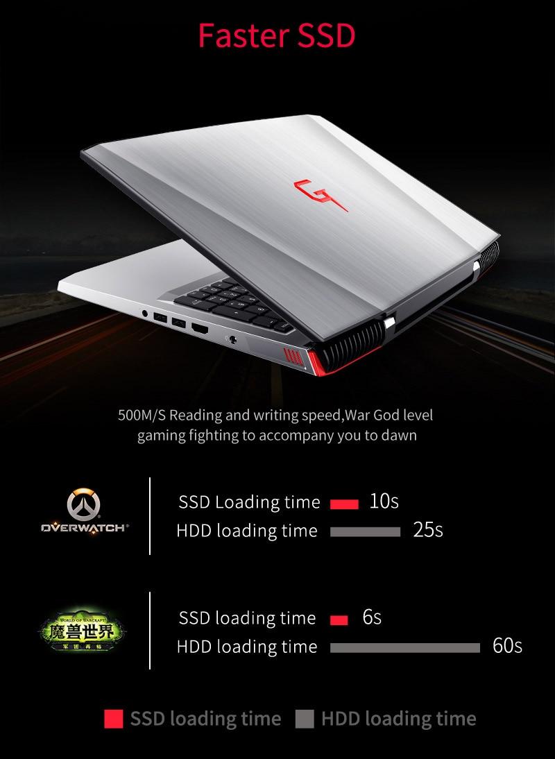 """HTB1BFk0XqagSKJjy0Faq6z0dpXaF BBEN G16 15.6"""" GTX1060 Intel Core i7 7700HQ Gaming Laptops DDR4 8G/16G/32G RAM 256G/512G SSD,1TB/2TB HDD Pro Windows10 computers"""