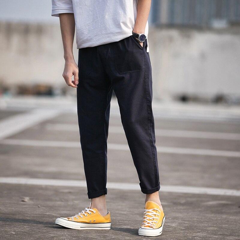 Men's trousers jogger joggings men's slim slacks men's trousers