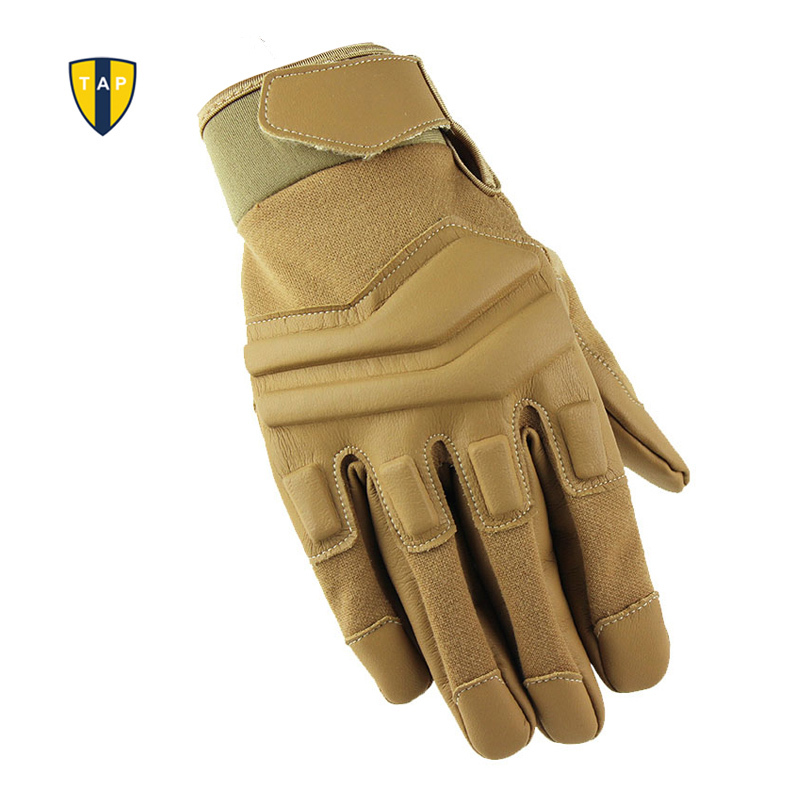 Motorcycle Racing Gloves Tactical Motor Sports Military Army Leather - Sportswear and Accessories - Photo 2
