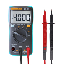 ZT100 4000 counts Digital multimeter AC/DC current voltage Resistance,Capacitance, Diode and Continuity Testing
