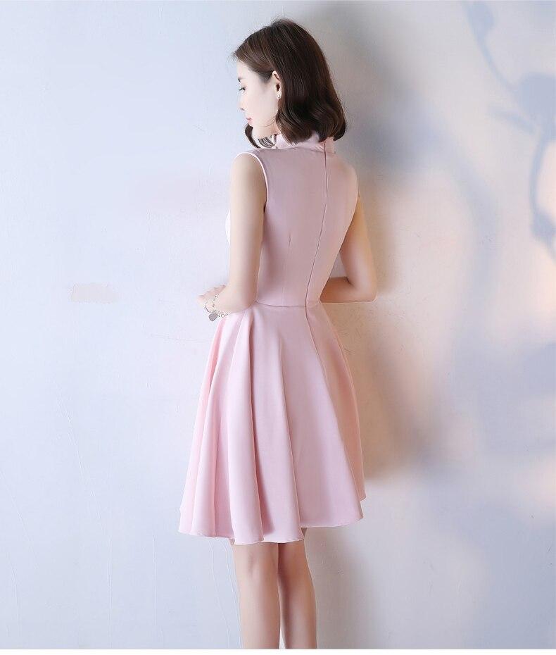 HTB1BFl4SpXXXXaKXFXXq6xXFXXXv - Pink Short Homecoming Dresses Junior Party Dresses JKP066
