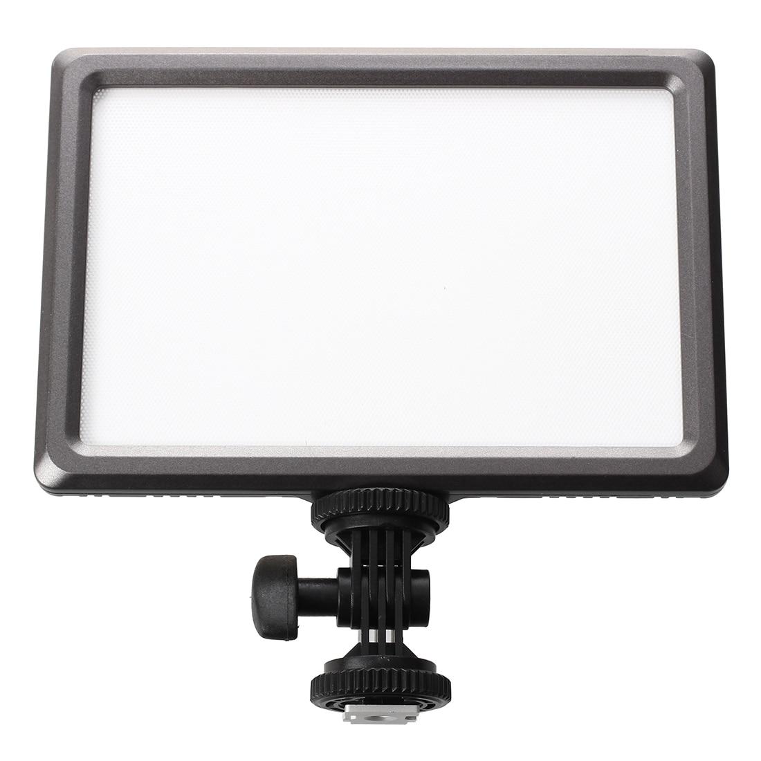 HFES New Nanguang Luxpad22 Pro Ultra Thin 112 LED 11W Video Light Pad for Canon Nikon DSLR Camera DV Camcorder