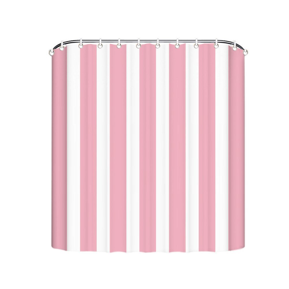 Aliexpress.com : Buy Cute Pink And White Striped Shower