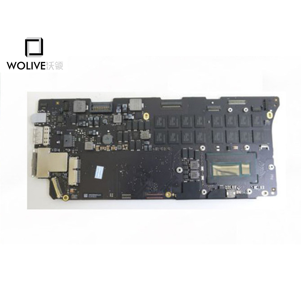 Original Working well Laptop Logic board connectors for Macbook Pro Retina 13'' A1502 2015 i5 2.7GHz 8GB RAM 820 4924 A