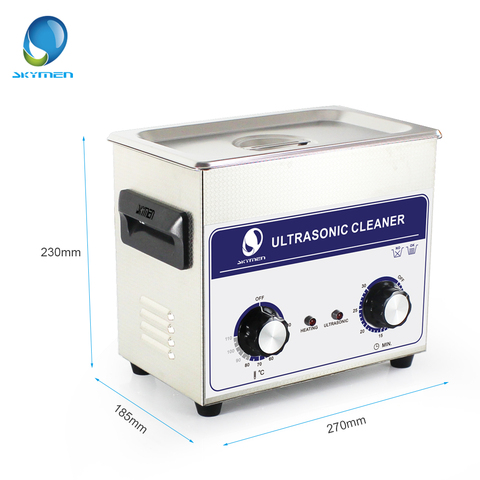 SKYMEN Ultrasonic Cleaner 3l Industry  cleaner 3.2L 120W 110/220V Cleaning Solution for circuit borad metal parts tableware Lahore