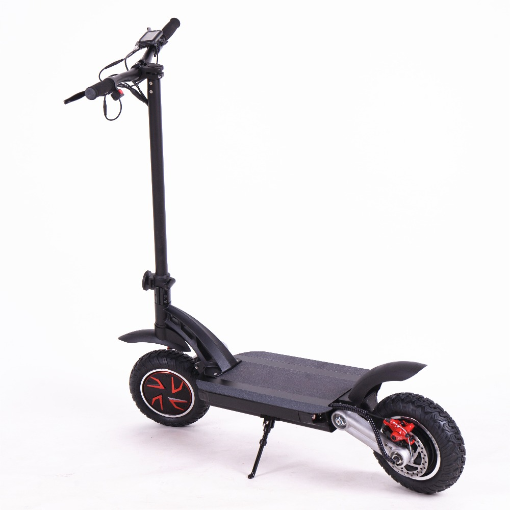 Train shipping KWHEEL S12 48V 20AH Lithium Battery Electric Scooter Dual Motors 2400W E scooter