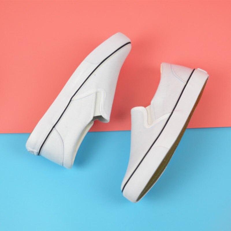 Negras Clásicas Las Primavera 2018 1 Blancos 2 Verano Lona Mujeres De Y Nuevos Zapatos fnqp18