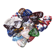 6pcs Alice Pearl Celluloid Acoustic Electric Guitar Picks Plectrums(Assorted Thickness) Free Shipping