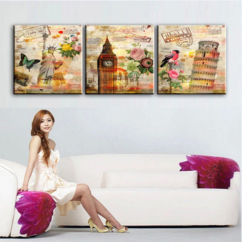 DONGMEI OILPAINTING Home decoration oil painting simulation oil Painting  print Figure pictures Painting  DM1709181