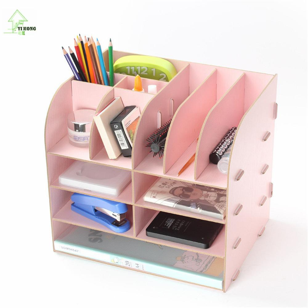 yihong diy wooden dressing table storage rack perfume jewellery case cosmetic makeup holder. Black Bedroom Furniture Sets. Home Design Ideas