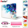 Redlai Women Face Transparent Crystal For Apple Mac Macbook Pro 13 Case Coverfor Pro 13 15 Inch With Retina Display Air 13 11