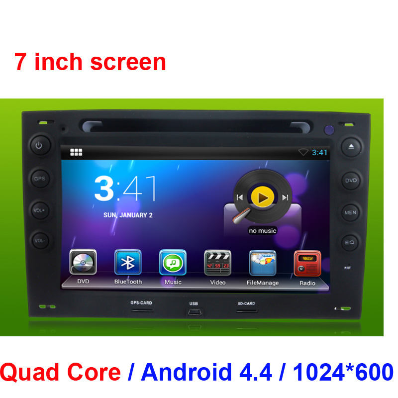 pure android 5 1 car dvd gps for renault megane 2003 2010 car dvd gps navi radio stereo mp3 mp4. Black Bedroom Furniture Sets. Home Design Ideas