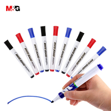 M&G Wholesale 3Pcs colored erasable whiteboard marker pens brand stationery office school supplies elegant sharpie markers gift(China)