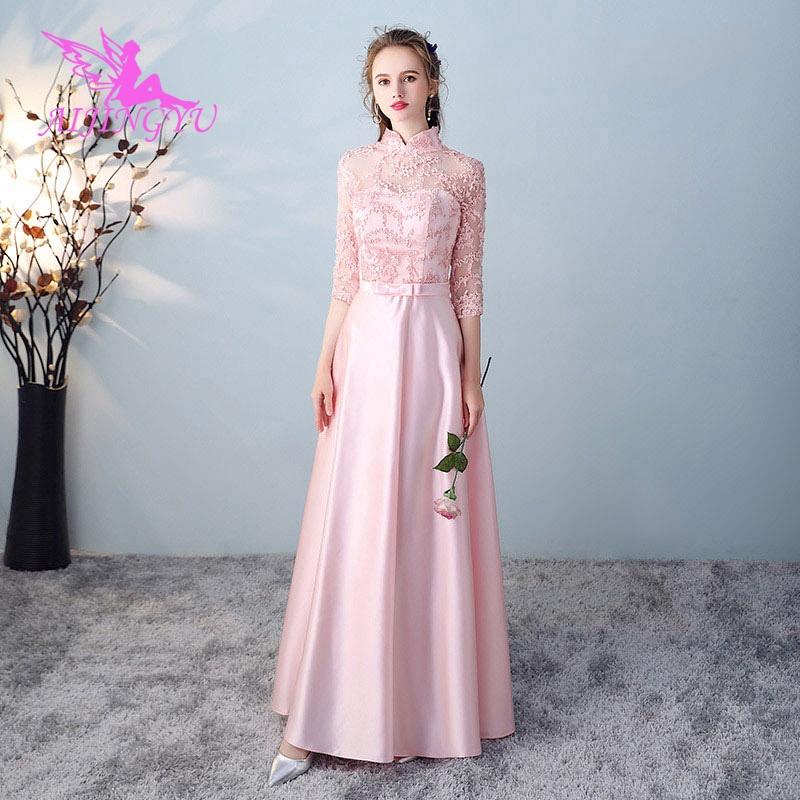 AIJINGYU 2018 Hot Sexy Wedding Party Bridesmaid Dresses Short Formal Dress