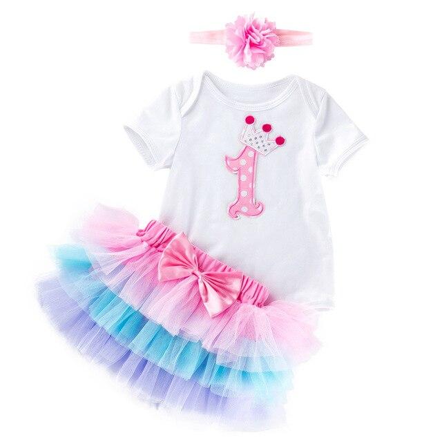 à Venda 1 Ano Bebê Menina Festa Vestido De Princesa Meninas