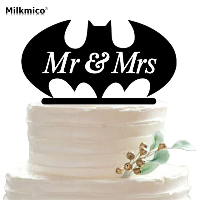 Personalized Mr Mrs Cake Toppers Cupcake Topper For Birthday Wedding