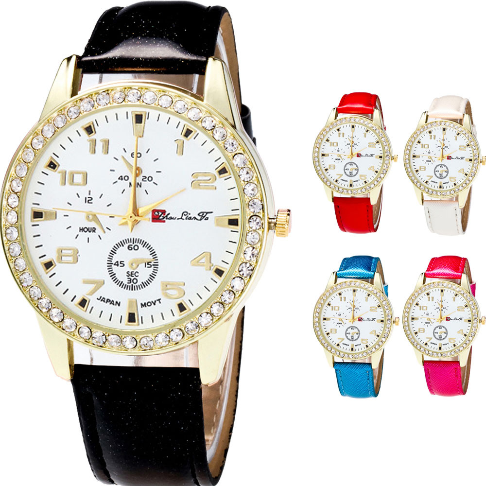 Women Watches New Fashion & Casual Special Dial Design Candy Color Male Female Strap Wrist Watch Relogios Feminino Montre