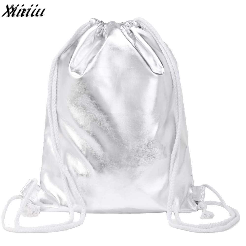 20f4f2574 Detail Feedback Questions about Women Drawstring Bag Fashion Solid Color  Leather Drawstring Backpack Ladies Tote Shoulder Bag Mochila Feminina  Escolar *7731 ...