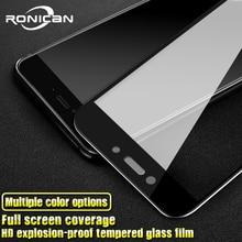 3D pełne szkło hartowane na xiaomi redmi 4x redmi 4X szklana folia ochronna dla xiaomi redmi 4x szklana pełna pokrywa dla redmi 5A 4A 3 3S
