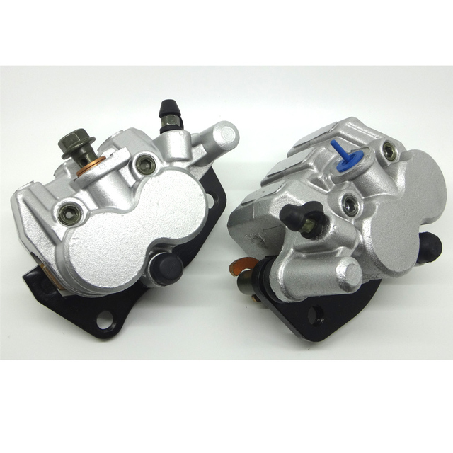 NEW FRONT BRAKE CALIPER FOR SUZU KI AN400 BURGMAN 2007-2011 LEFT&RIGHT WITH PADS