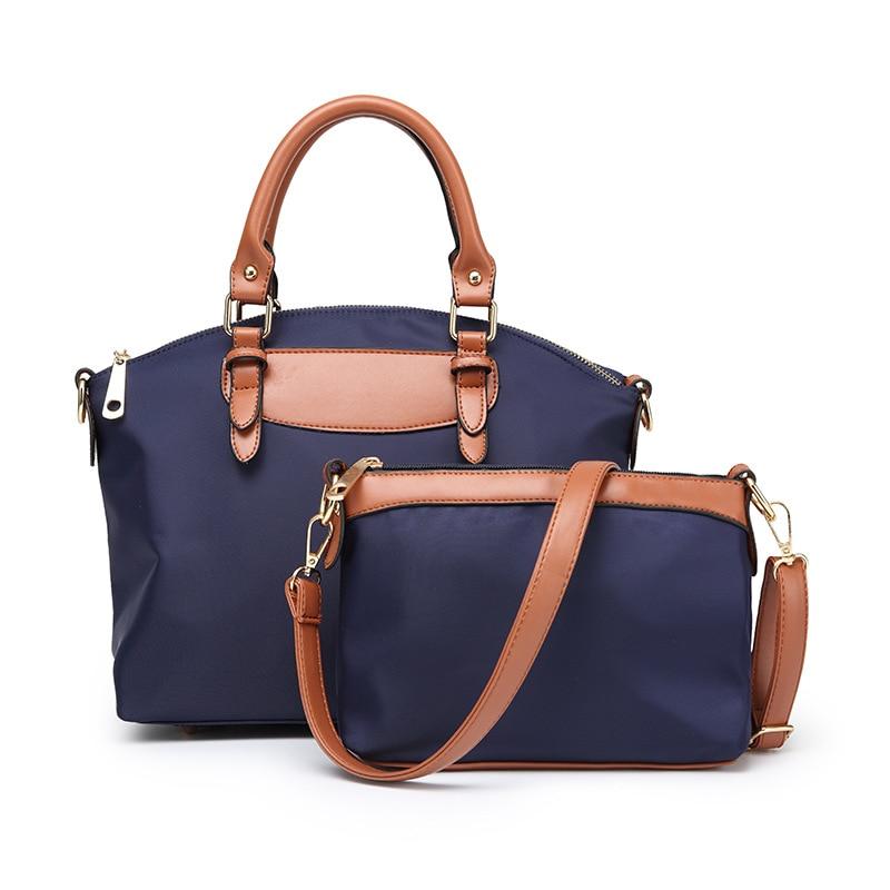 S.P.L. Summer And Spring Fashion Oxford Handbag Set Composite Bag Shoulder Bag For 2017 Women Messenger Bag