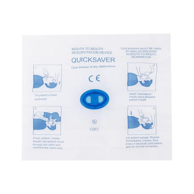 5Pcs First Aid Kit One-Way Valve Protection 2