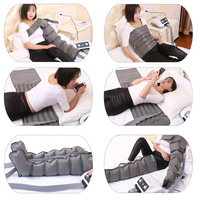 Electric Air Compression presoterapia Foot Massager Waist Leg Arm air pressure massager lymphatic massage machines