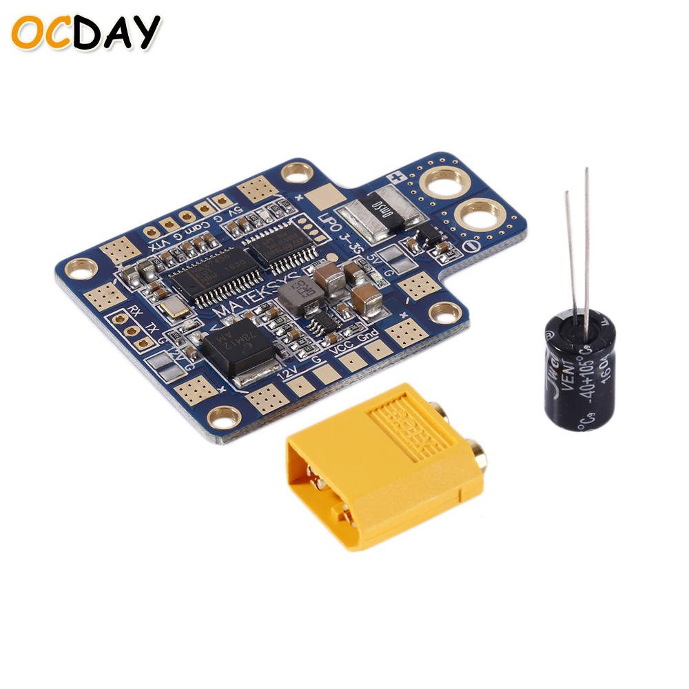 1pcs Original Ocday Matek HUBOSD eco X Power distributon board HUB OSD PDB CURRENT SENSOR купальники гимнастические profit купальник