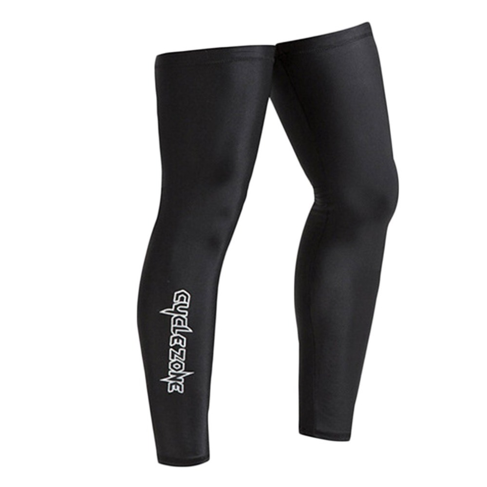 Outdoor UV Breathable Windproof Cycling Leg Mountain Road Cycling Socks MTB Bike Protect Covers Cycling Leg Warmers Cycling Tights     - title=