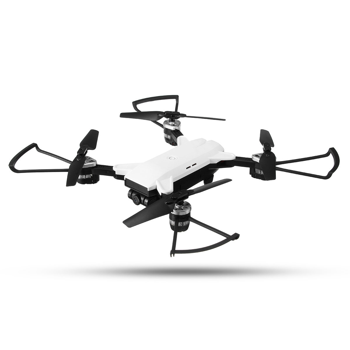 Smart Remote Control Kit HW Mini Foldable RC Helicopter Selfie Drone Wifi FPV 0.3MP  Altitude With LED Light Headless hot aerial rc h37 quadcoptertracker foldable mini rc selfie drone with wifi fpv 720p camera g sensor altitude hold