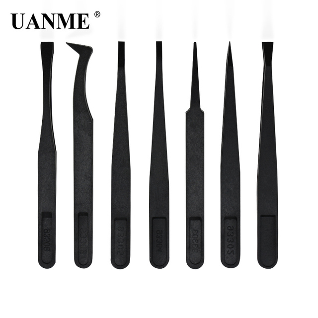 US $1 82 20% OFF|UANME 7Pcs/Set Anti static Tweezers Heat Resistant ESD  Safe Opening Tool Kits For Mobile Phone Tablets Repair Tools Kit-in  Industrial