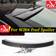 W204 rear roof spoiler Wing Lip AEAC style carbon fiber for W204 C class C180 C200 C220 C230 C250 C280 C300 C350 C400 2007-2014 стоимость