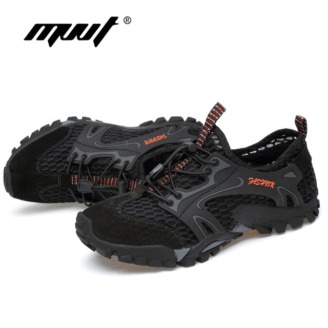 Summer Breathable Men Hiking Shoes 10