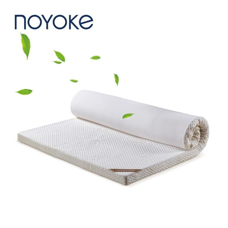 NOYOKE Mattress Tatami Bedroom Furniture Bed Topper Memory Foam Foldable Sleeping Mattress 5cm Thickness