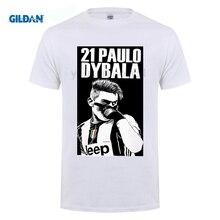 4f5f46ee0 funny men t shirt 2017 tide brand short sleeve T-shirt Paulo Dybala Serie A