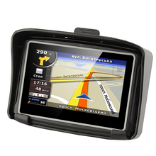 New 4.3″ Waterproof IPX7 Motorcycle GPS Navigation Car Navigator Moto GPS with FM Bluetooth 8G Internal Memory & Free Map
