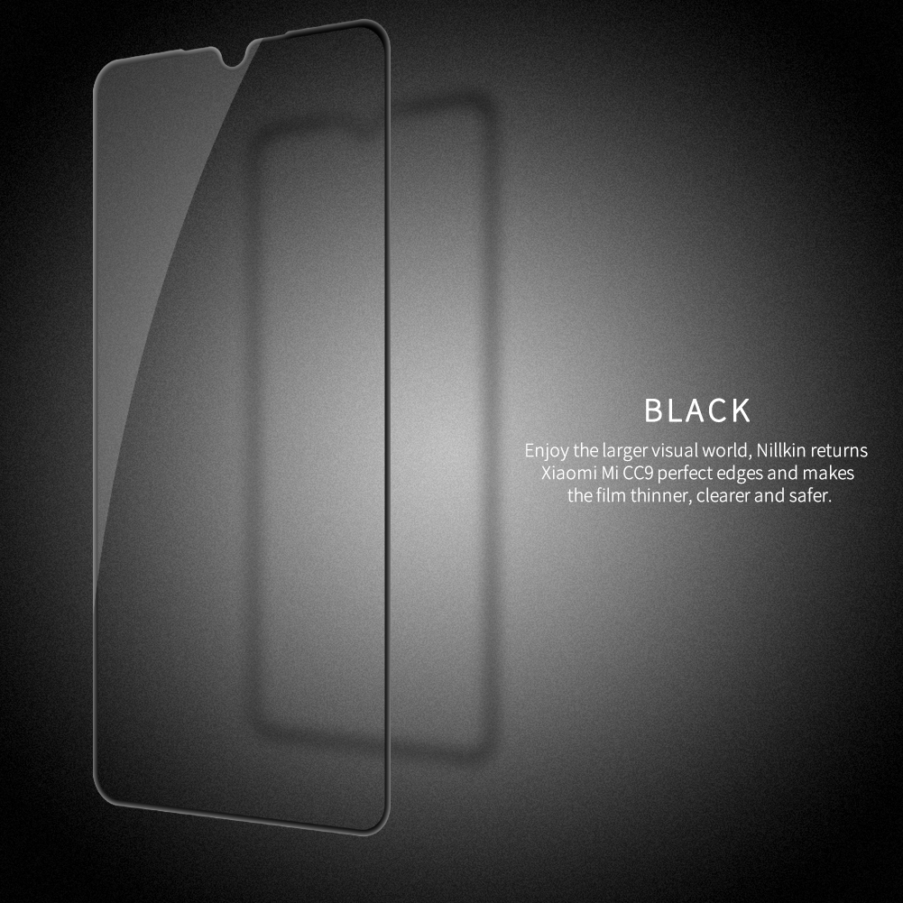 Image 5 - Tempered Glass for Xiaomi CC9E CC 9E Mi9 Lite Nillkin CP+Pro 2.5D Full Glue Film For Xiaomi Mi 9 Lite Glass-in Phone Screen Protectors from Cellphones & Telecommunications on