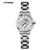SINOBI Women S Fashion Steel Watches Womens Females Antique Geneva Quartz Watch Ladies Brands Wristwatch Relojes