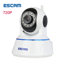 ESCAM QF002 HD 720p cctv wifi wireless ip camera Night Vision Network ip cam wi-fi Home security Camera De Deguridad Ip Cameras