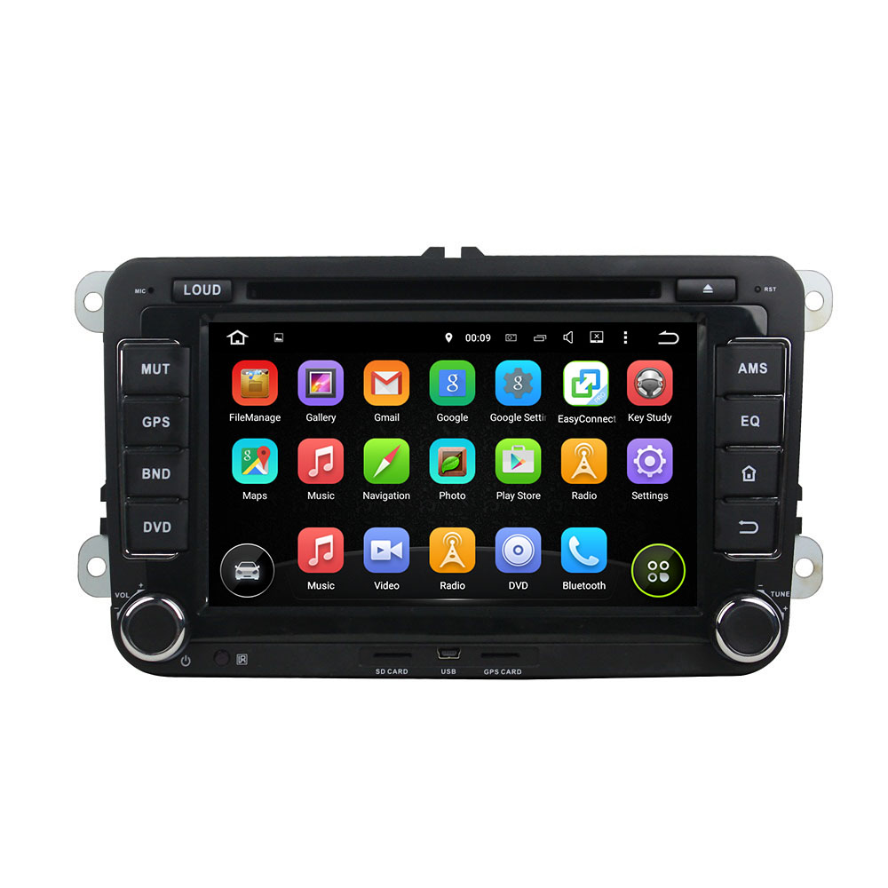"KLYDE 7"" 2 Din Android 8.0 Car Radio 8 Core For SKODA Octavia II III FABIA SUPERB 2005-2010 Multimedia Player Car Audio Stereo"
