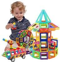 70pcs Big Size Magnetic Designer Building Construction Toys Set Magnet Educational Toys For Children Kids Boys Girls Gift