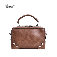YBYT brand 2019 new simple women satchel fashion shopping bag joker leisure evening pack retro shoulder messenger crossbody bags ybyt brand 2017 new women pu leather pack vintage casual simple fashion small satchel ladies shoulder messenger crossbody bags