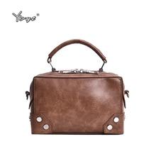 YBYT brand 2019 new simple women satchel fashion shopping bag joker leisure evening pack retro shoulder messenger crossbody bags