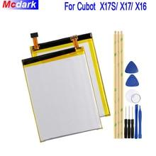 Mcdark 2500 мАч Батарея для смартфона Cubot X17/X 6 X17 X16 аккумуляторная батарея Акку PIL мобильный телефон с инструментами