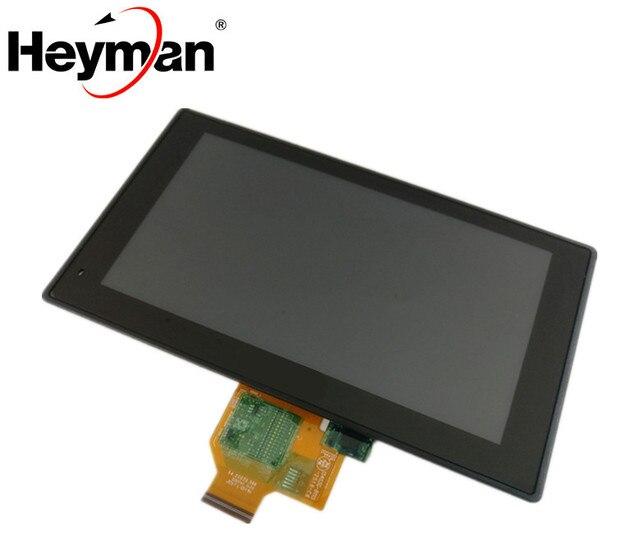 شاشة LCD الأصلية مع محول الأرقام ل Garmin DriveSmart 60 LMT لتحديد المواقع شاشة الكريستال السائل الشاشة مع محول الأرقام بشاشة تعمل بلمس