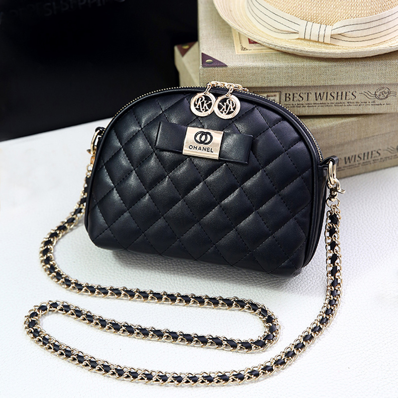Channels Fashion Women Messenger Bags Quality Leather Female Shoulder Bags Causal Circular Bag Crossbody Bags Women luis vuiton
