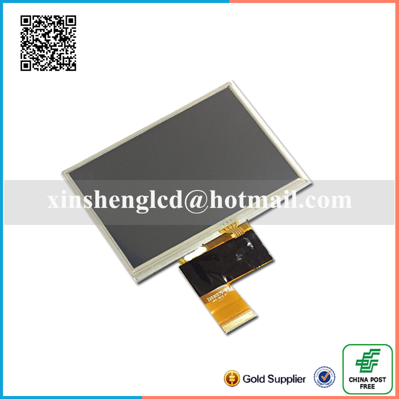 New 5 inch LCD Display For GPS Tape tp kd50g23-40nb-a1-revc gps LCD screen kd50g23-40nb-a1 Sensor Replacement Free Shipping